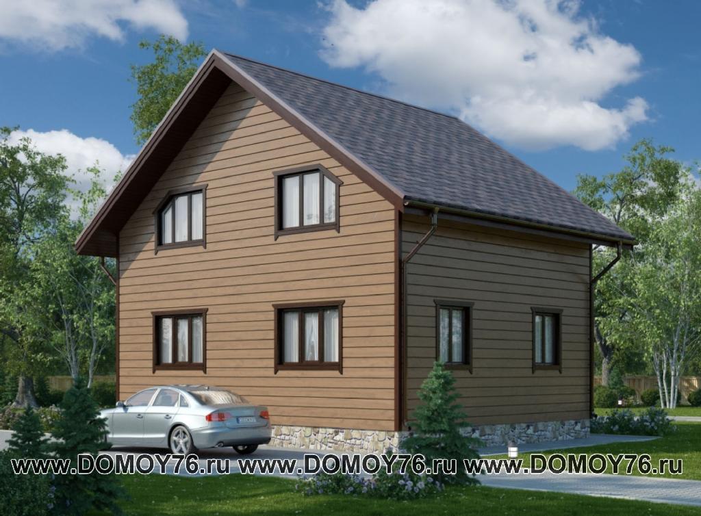 дом по проекту Сказка