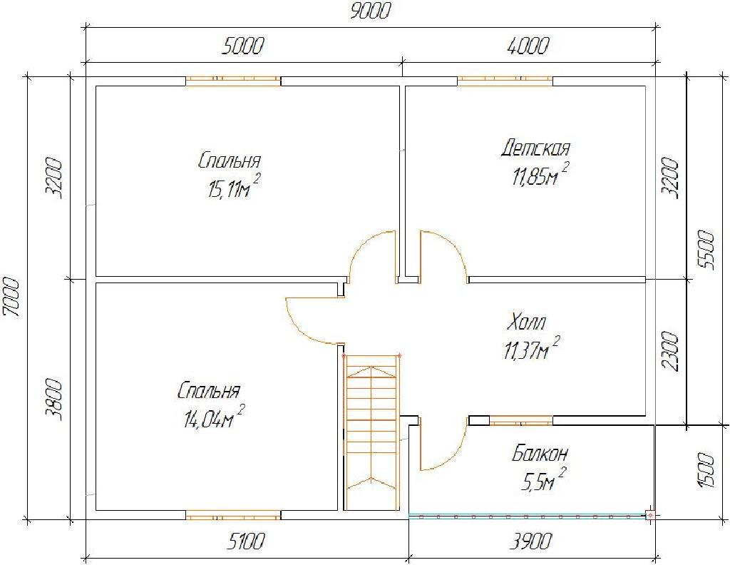 план проекта дома сказка
