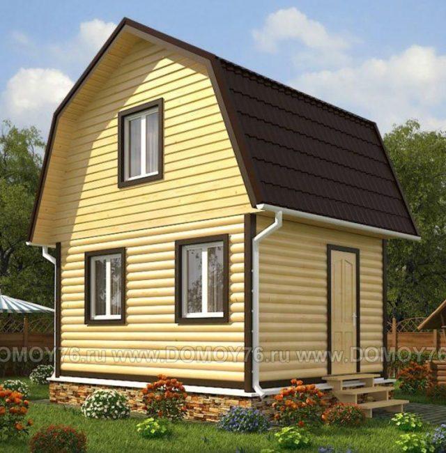 Проект дома Спутник