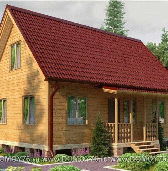 Проект дома Сударь