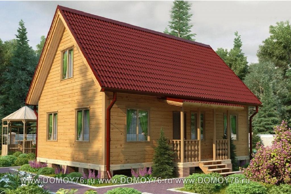 Проект дома Сударь от строительной компании ДоМой