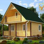 проект дома виктория