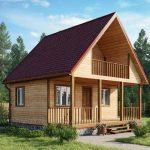 проект дома виктория от строительной компании ДоМой