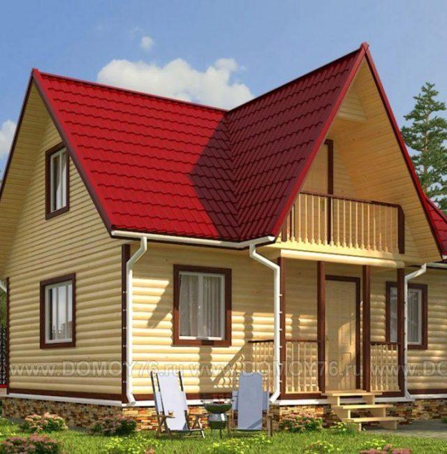Проект дома Витязь