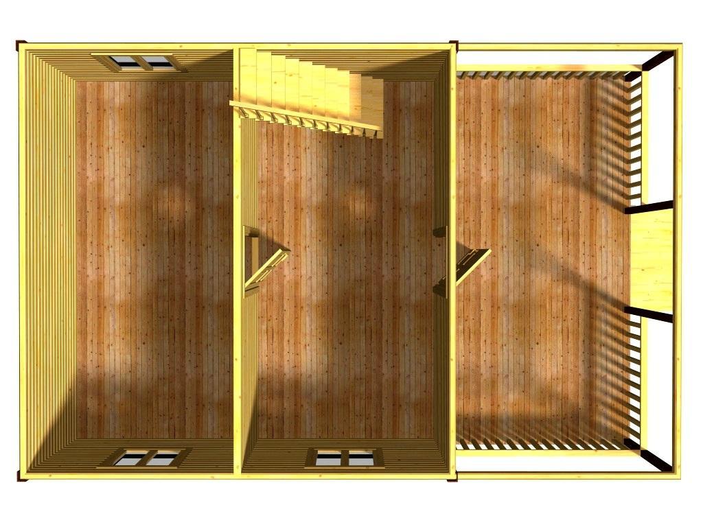 План первого этажа проекта Жемчуг