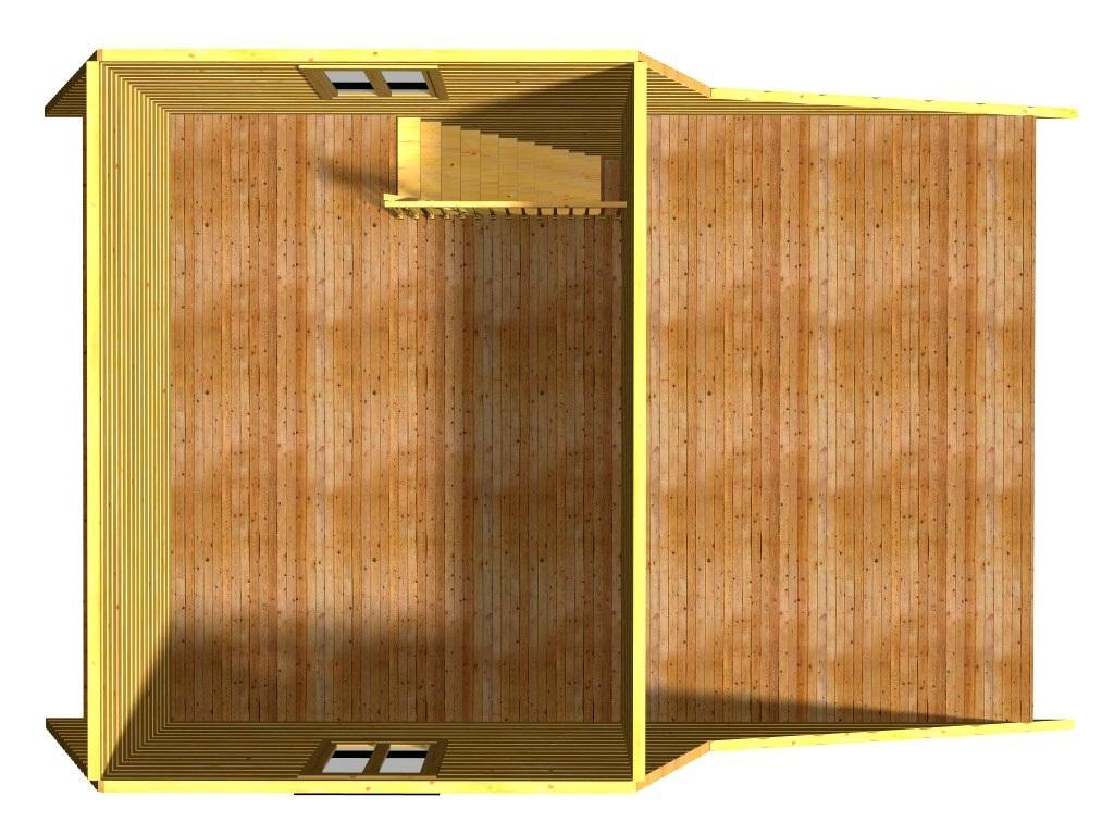 План второго этажа проекта Жемчуг