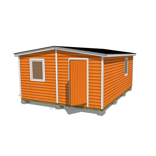 4х6 дом за 149 900 руб - 1
