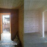 Садовый дом 4х6 с внутренней отделкой