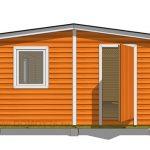 проект садового дома 1 вид 2