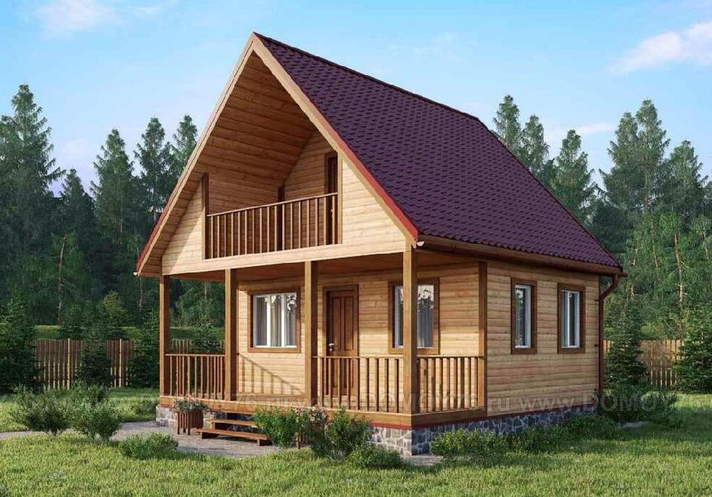 проект дома виктория от компании ДоМой