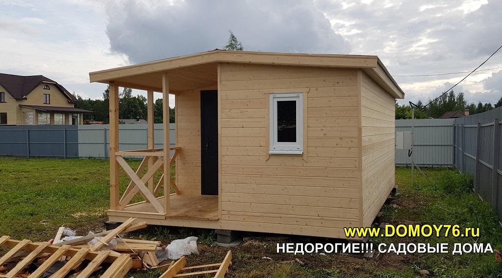 Садовый дом 4x6 ДоМой портфолио5