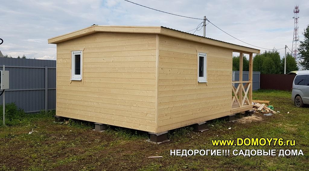 Садовый дом 4x6 ДоМой портфолио