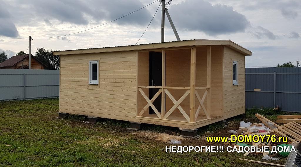 Садовый дом 4x6 ДоМой портфолио1