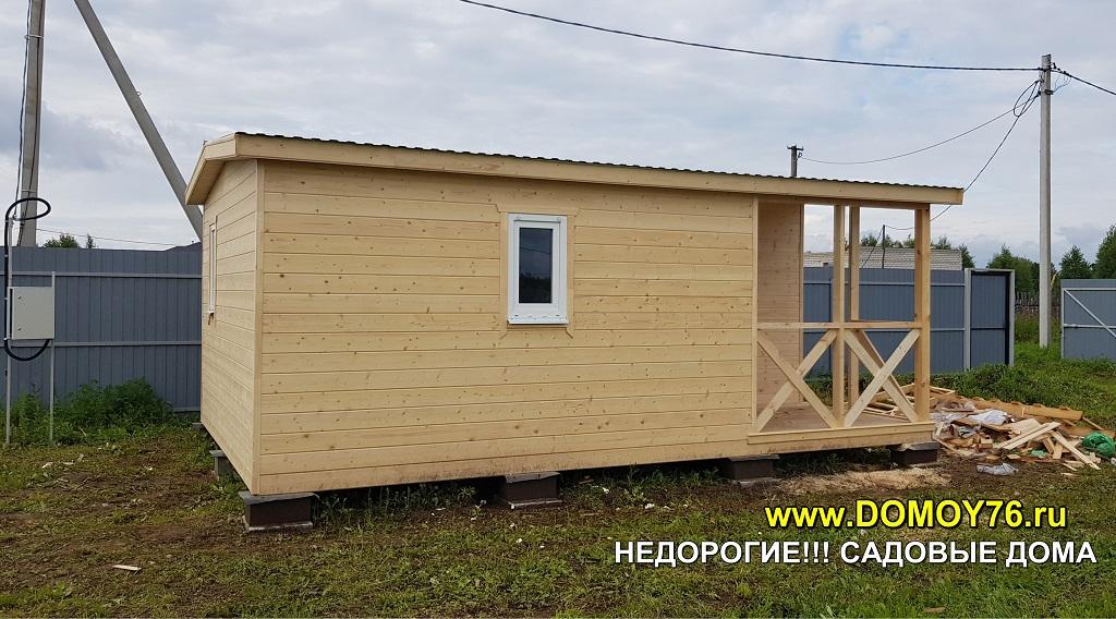 Садовый дом 4x6 ДоМой портфолио3