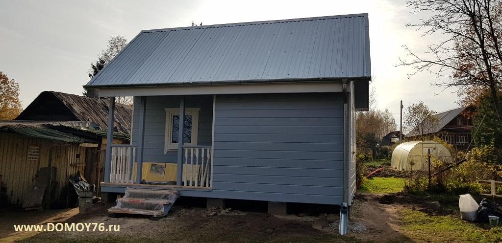 Дачный дом размер 4 на 6 в один этаж 6
