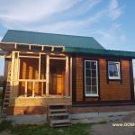 Дом из бруса 8х8 м. фото-11