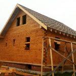 Дом из бруса 8х8 м. фото-13