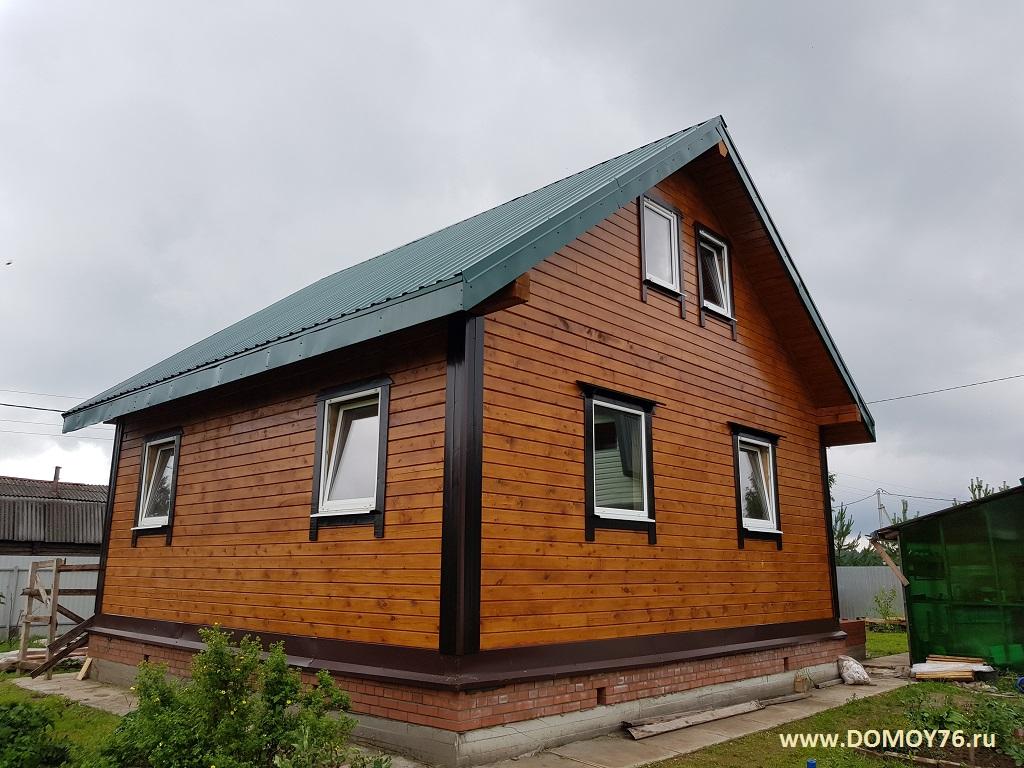 Дом из бруса 8х8 м. фото-4