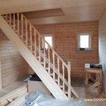 Дом из бруса 8х8 м. фото-6