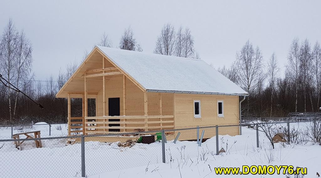 дом 6х8 от компании ДоМой 76 - 9