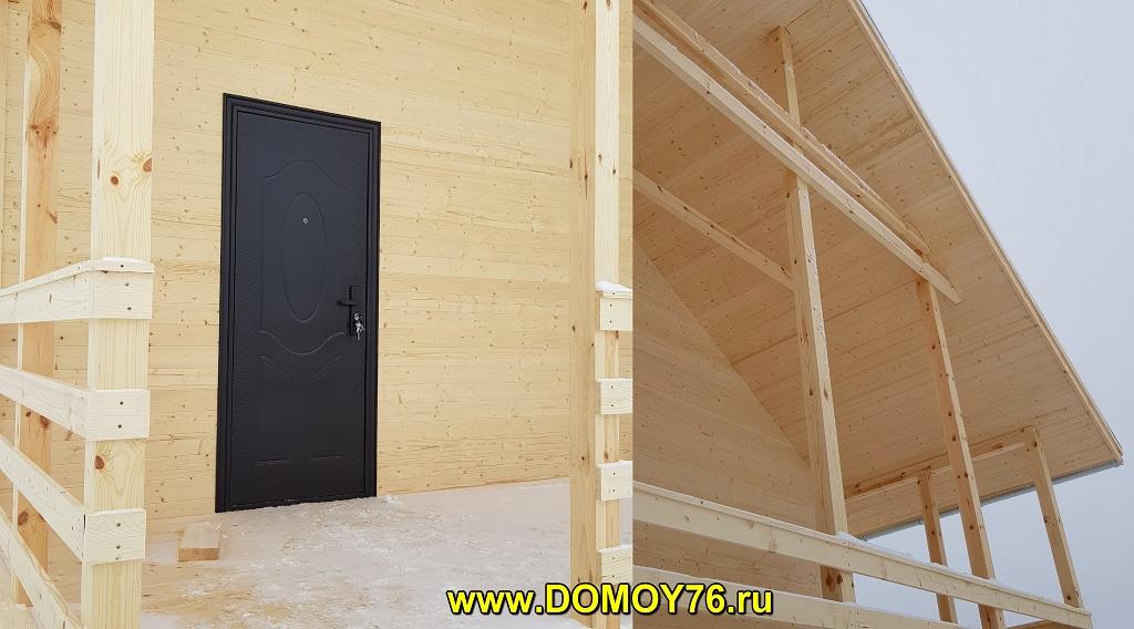 дом 6х8 от компании ДоМой 76 - 7