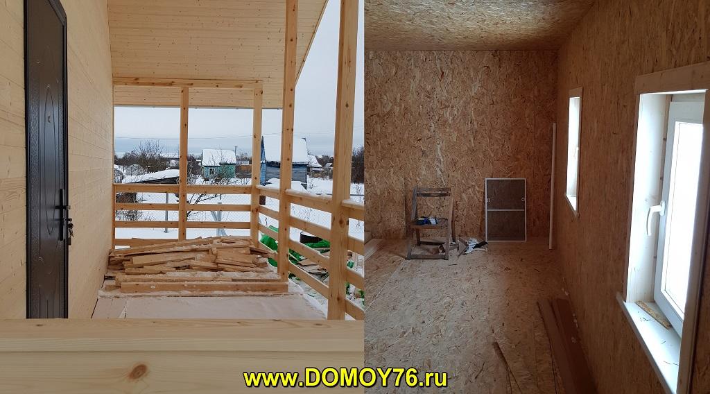 дом 6х8 от компании ДоМой 76 - 4