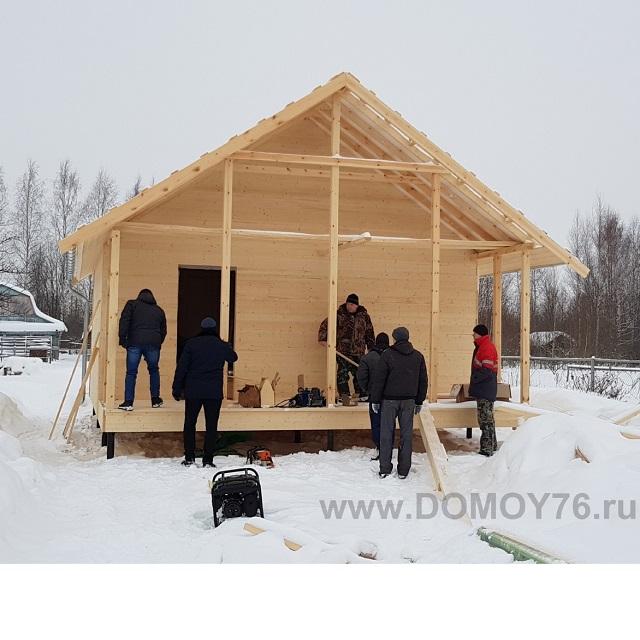 дом 6х8 от компании ДоМой 76 - 2