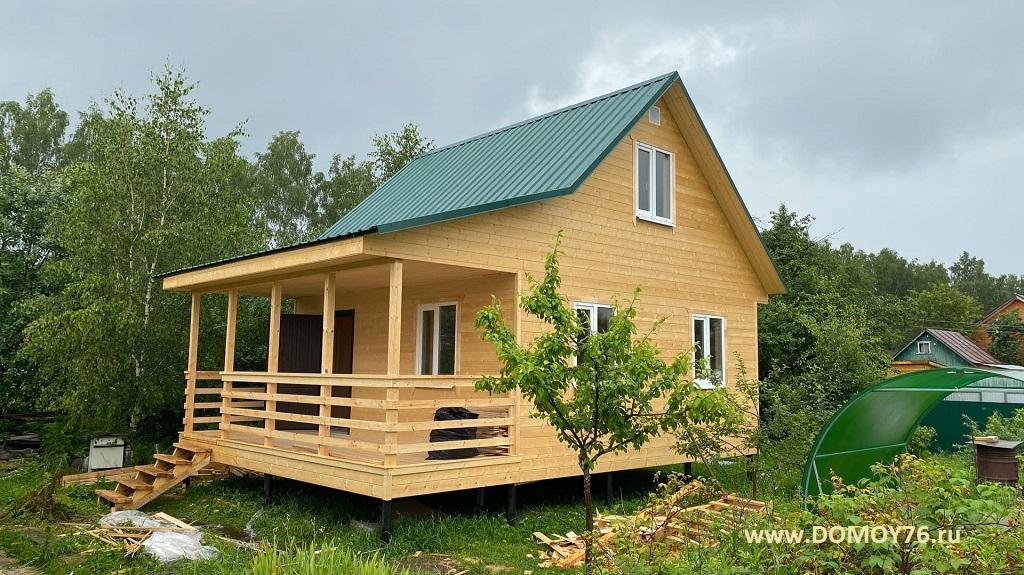 Проект Онега, строительство дома Рыбинск фото 12