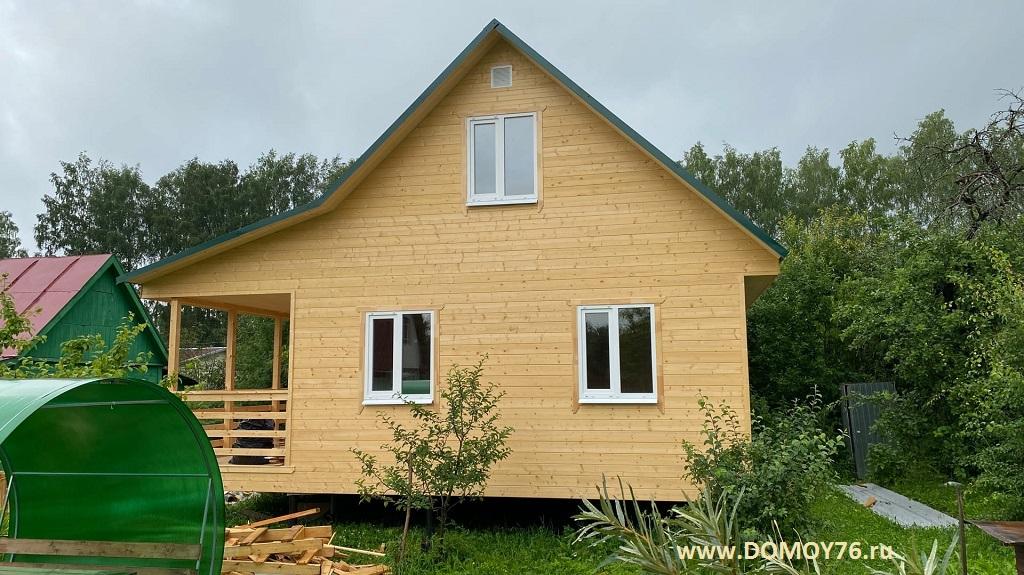 Проект Онега, строительство дома Рыбинск фото 7