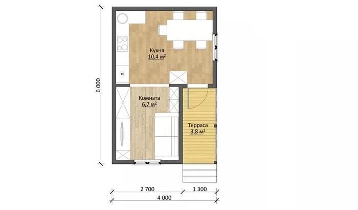 Проект феникс план дома