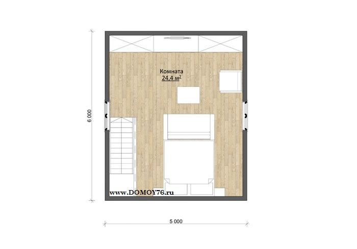 План дома Виола, 2 этаж